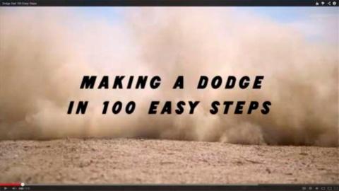making a dart 100 steps copy