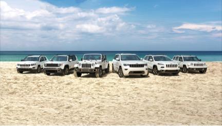 jeep lineup